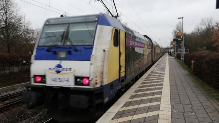 RE3 Uelzen-Lüneburg gesperrt