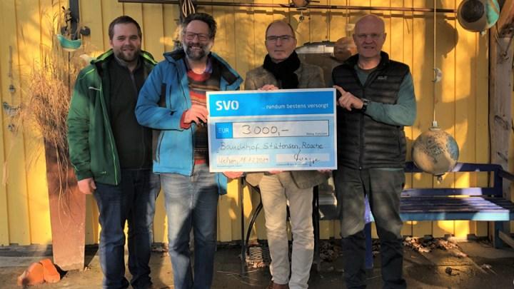 SVO spendet 3.000 Euro an Bauckhof Stütensen