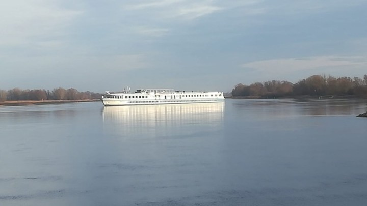 Schiffsunfall auf der Elbe