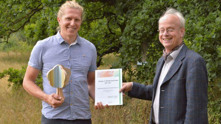 Der Niedersächsische Heimatbund e.V. erhält Auszeichnung als offizielles Projekt der UN-Dekade Biologische Vielfalt