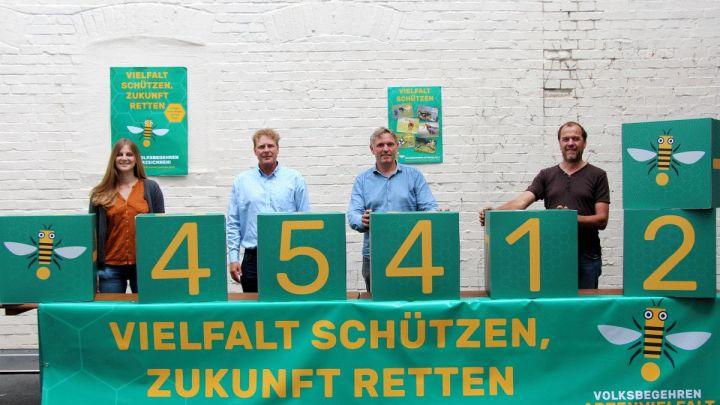 Bereits 45.412 Unterschriften für mehr Artenvielfalt in Niedersachsen