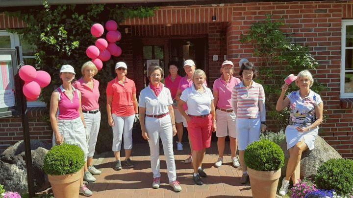 Pink Ribbon Deutschland Damentag-Serie 2020 – Golferinnen spielen für Brustkrebs-Früherkennung