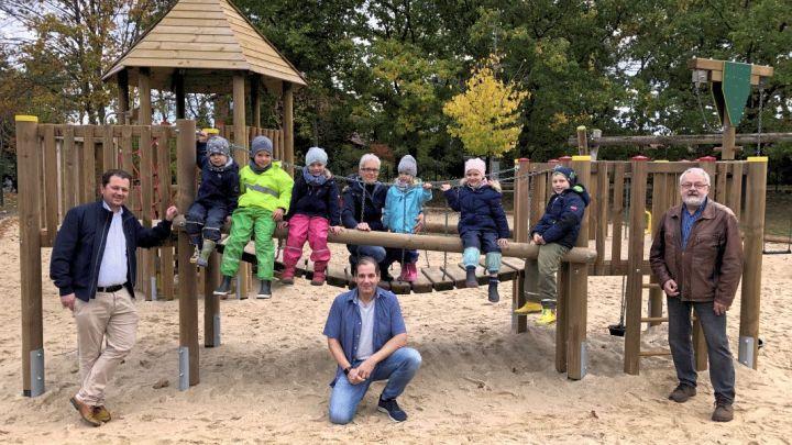 Kletterspaß für Kinder in Holdenstedt
