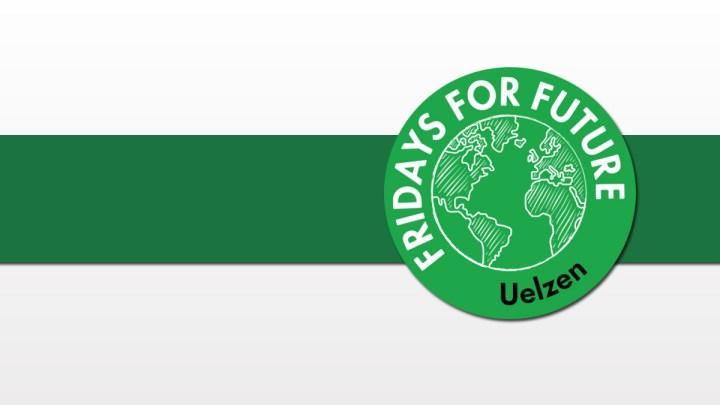 Teilnahme von Fridays for Future Uelzen an den 1. Uelzener Sauberkeitswochen