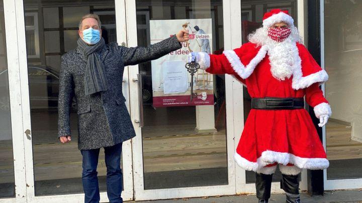 Uelzen: Der Weihnachtsmann zieht in die Hansestadt