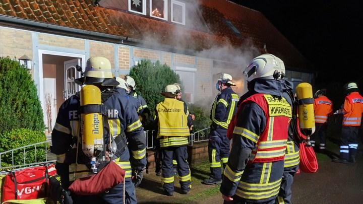Heimrauchmelder macht auf Schornsteinbrand aufmerksam