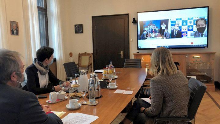 Partnerstädte Lüneburg und Naruto teilen Freud und Leid virtuell