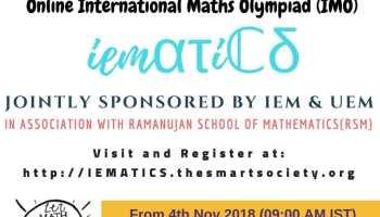 Science Olympiad 2018 at UEM Jaipur - IEM UEM Group