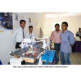 Technical model Exhibition by our students at Techno-Cultural Exhibition and Competition at UEM
