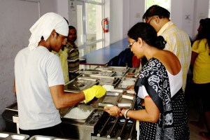 Canteen at UEM is maintained with Utmost Hygiene