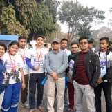 BHM students participated in IEM UEM Marathon – 2019