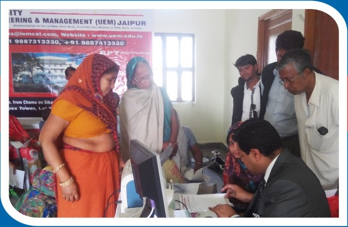 Medical Camp Conducted by UEM at Niwai in Tonk Distt. (Raj.)