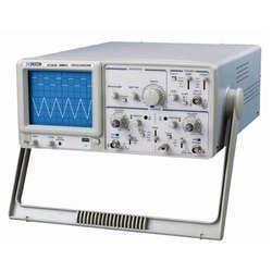 Dual Trace oscilloscope CRO