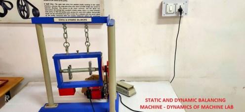 Static & Dynamic Balancing