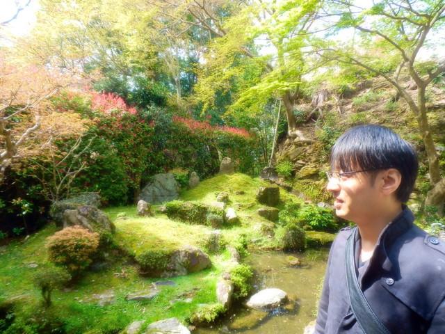 上野大照 吉水神社の庭