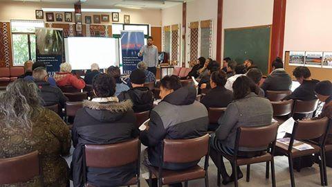 Great turnout in Whanganui. Nga mihi, whanau.