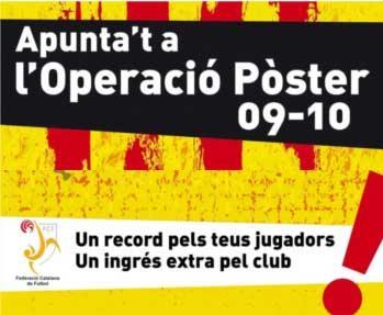 Operació poster 09/10