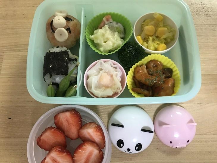 くるりんの今日のお弁当 2017.04.25.