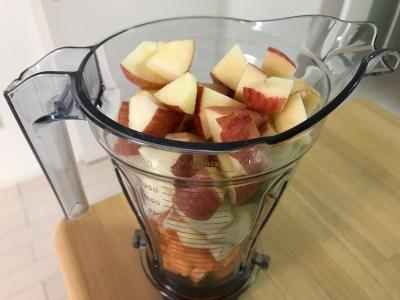春ニンジンとリンゴ