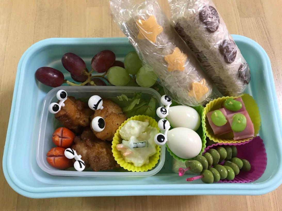 くるりんの今日のお弁当 2017.05.24. 今日は砧公園へ遠足でした