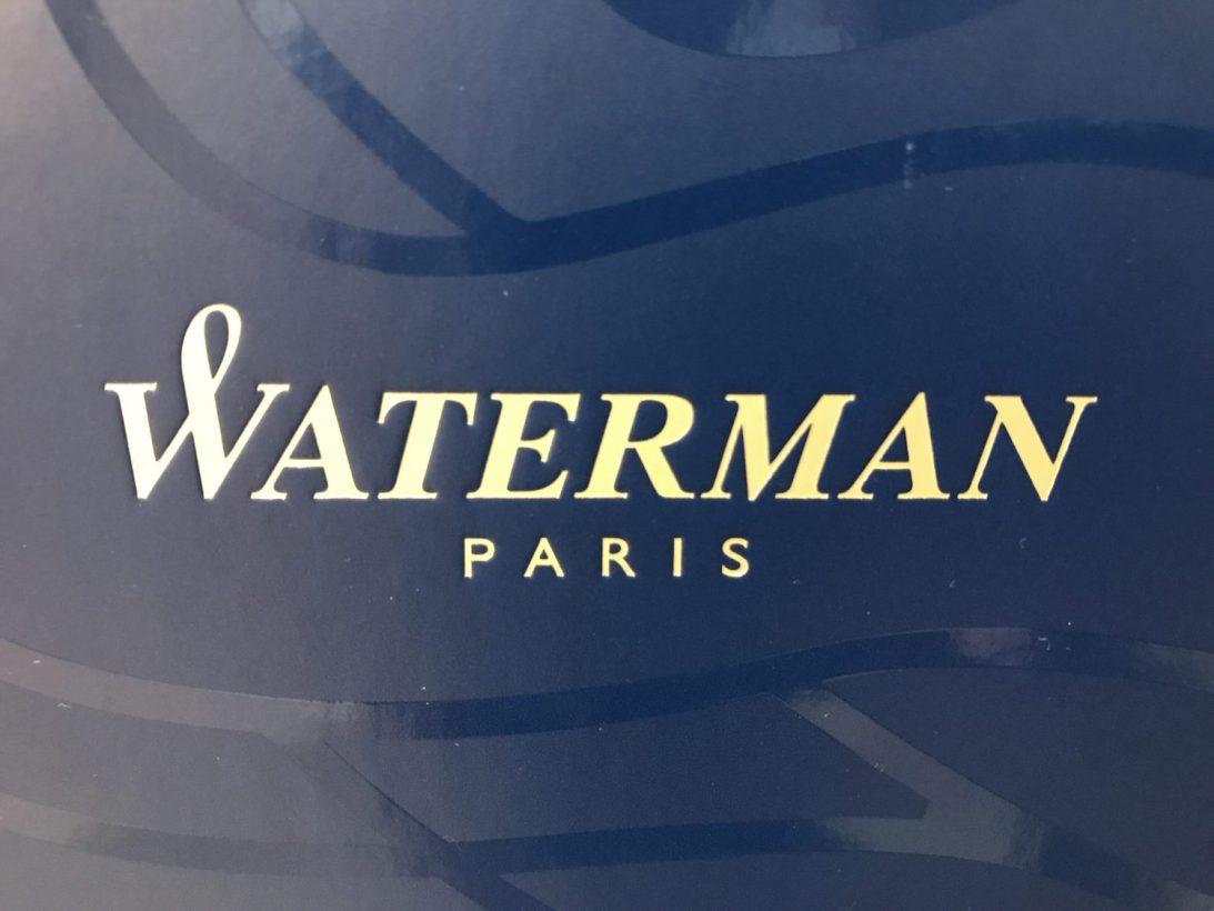 WATERMAN(ウォーターマン)の万年筆を買ったら、販売員の方からいろいろなことを教えてもらった。
