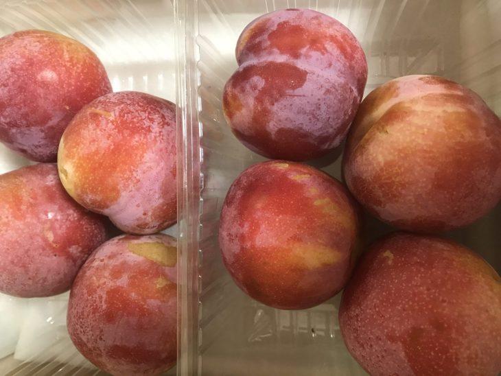 金丸文化農園さんのすもも、サマーエンジェルが届きました! 前回届いた桃に続き、大満足!