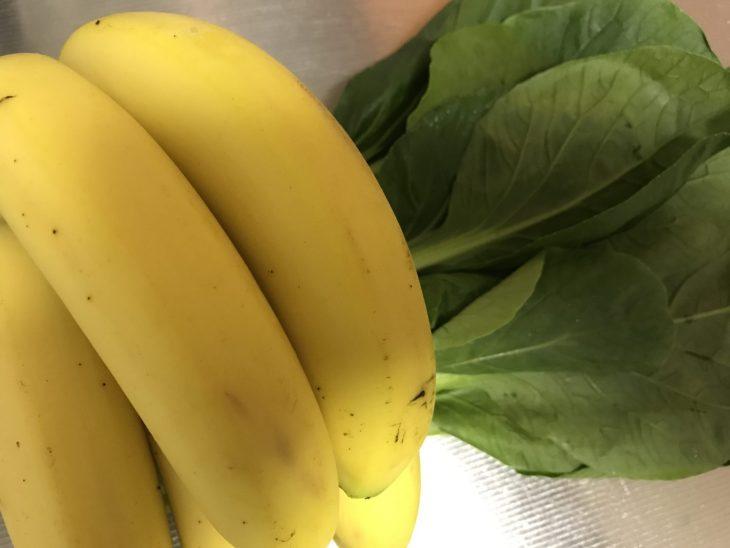 今日のスムージー 2017.09.05. 今日も定番の小松菜とバナナのスムージー