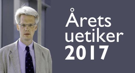 Årets uetiker 2017