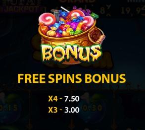 Bonus Free Spin ในเกมสล็อตซุปเปอร์ บูม