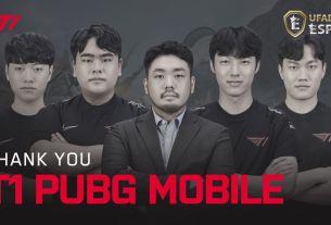 T1 PUBG MOBILE