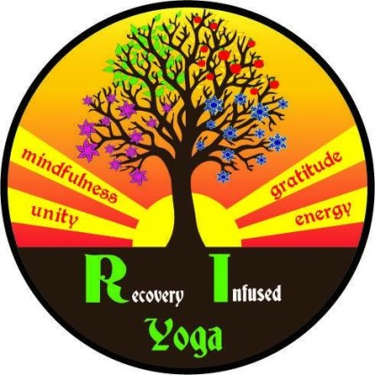Recovery Infused Yoga logo