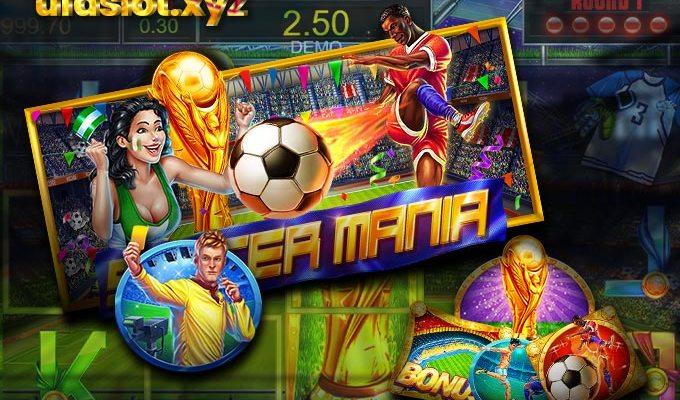 Soccer Mania สล็อตฟุตบอล แตกโบนัสง่าย จ่ายจริง