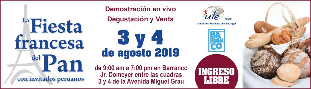 UFE Pérou - Fiesta Francesa del Pan 2019 - Barranco - Lima