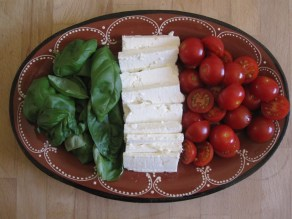 Fake Italian (Greek cheese).