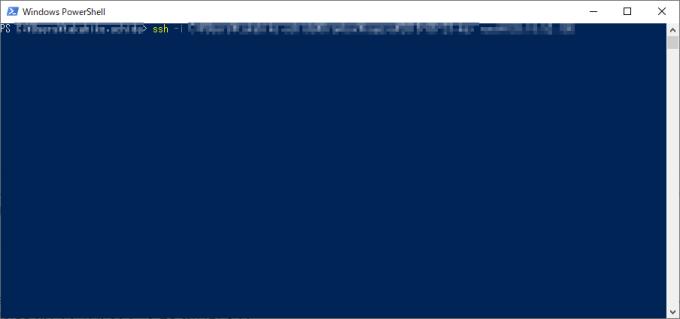 windows ssh コマンド