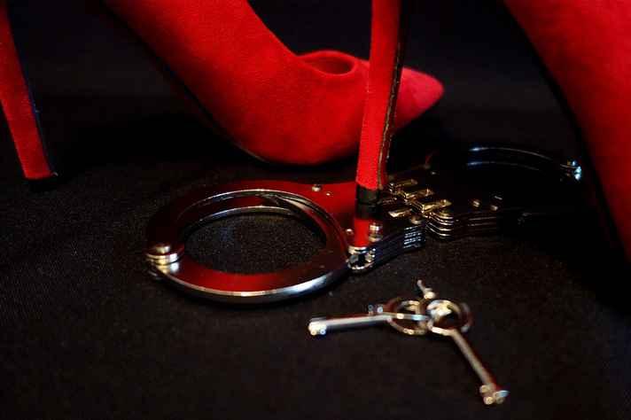 Alguns dos possíveis objetos usados nas práticas BDSM