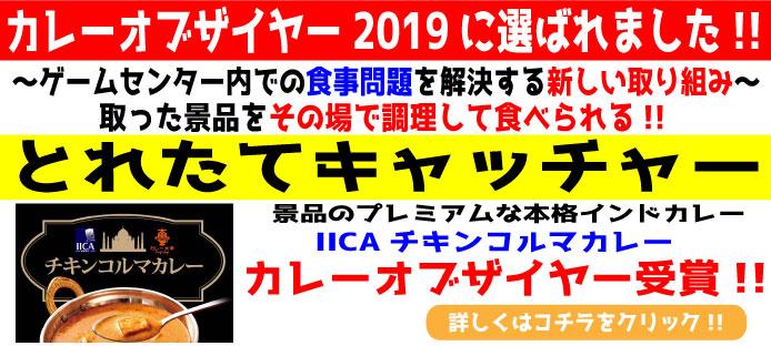 TOPスライド カレーオブザイヤー受賞