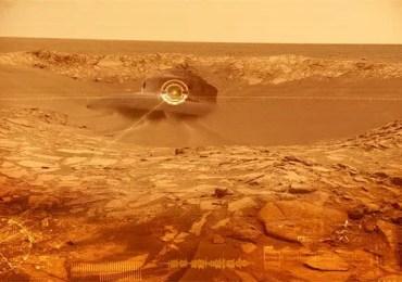 ufo crash on mars 3