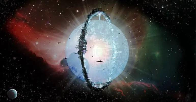 dyson sphere surrounding star 3