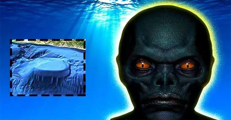 underwater alien base pacific
