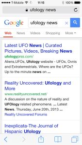 Ufology News Google