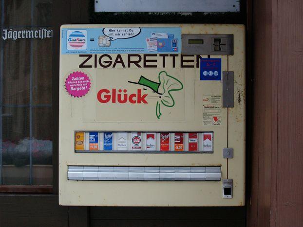 Zigarettenautomat Ausweis