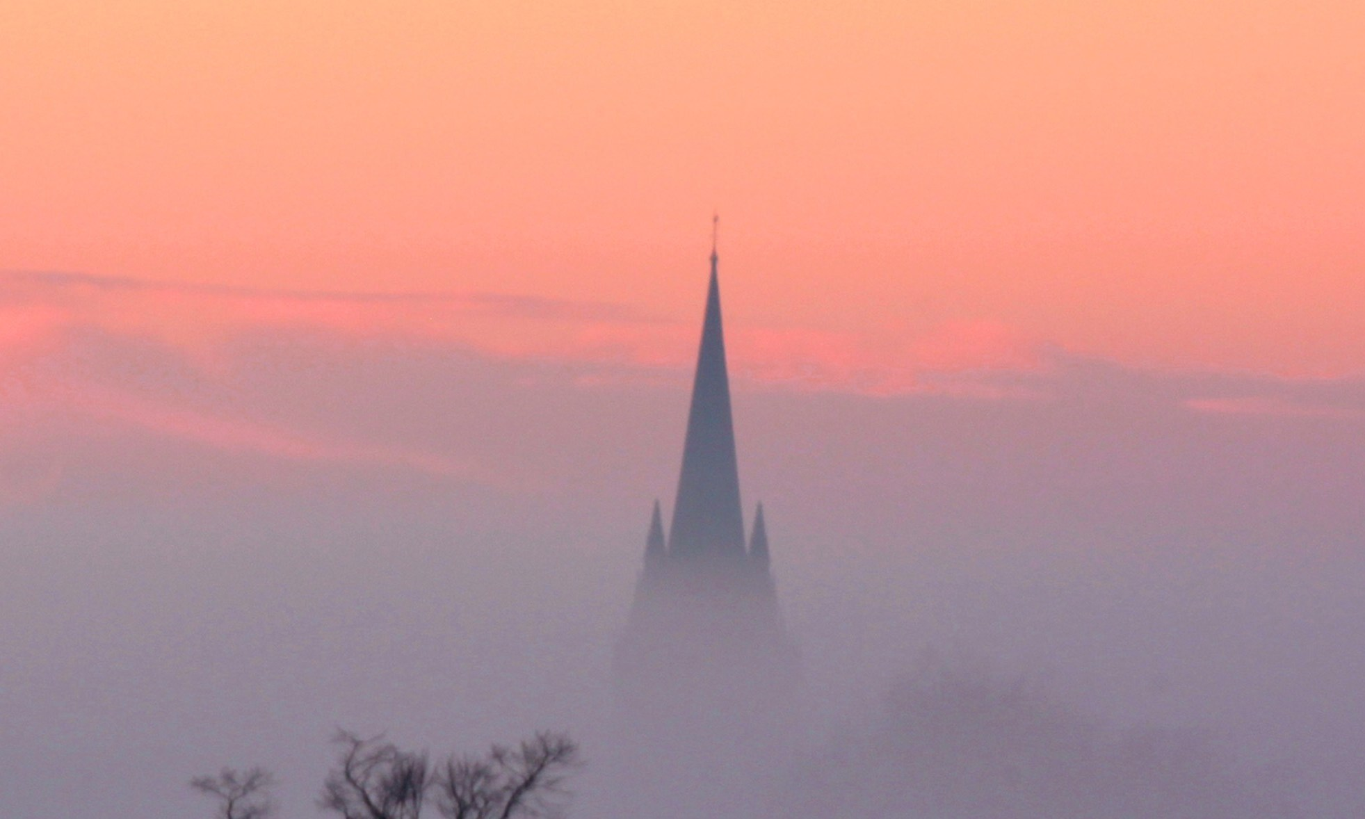 Oxford Spires - November by Tejvan Pettinger