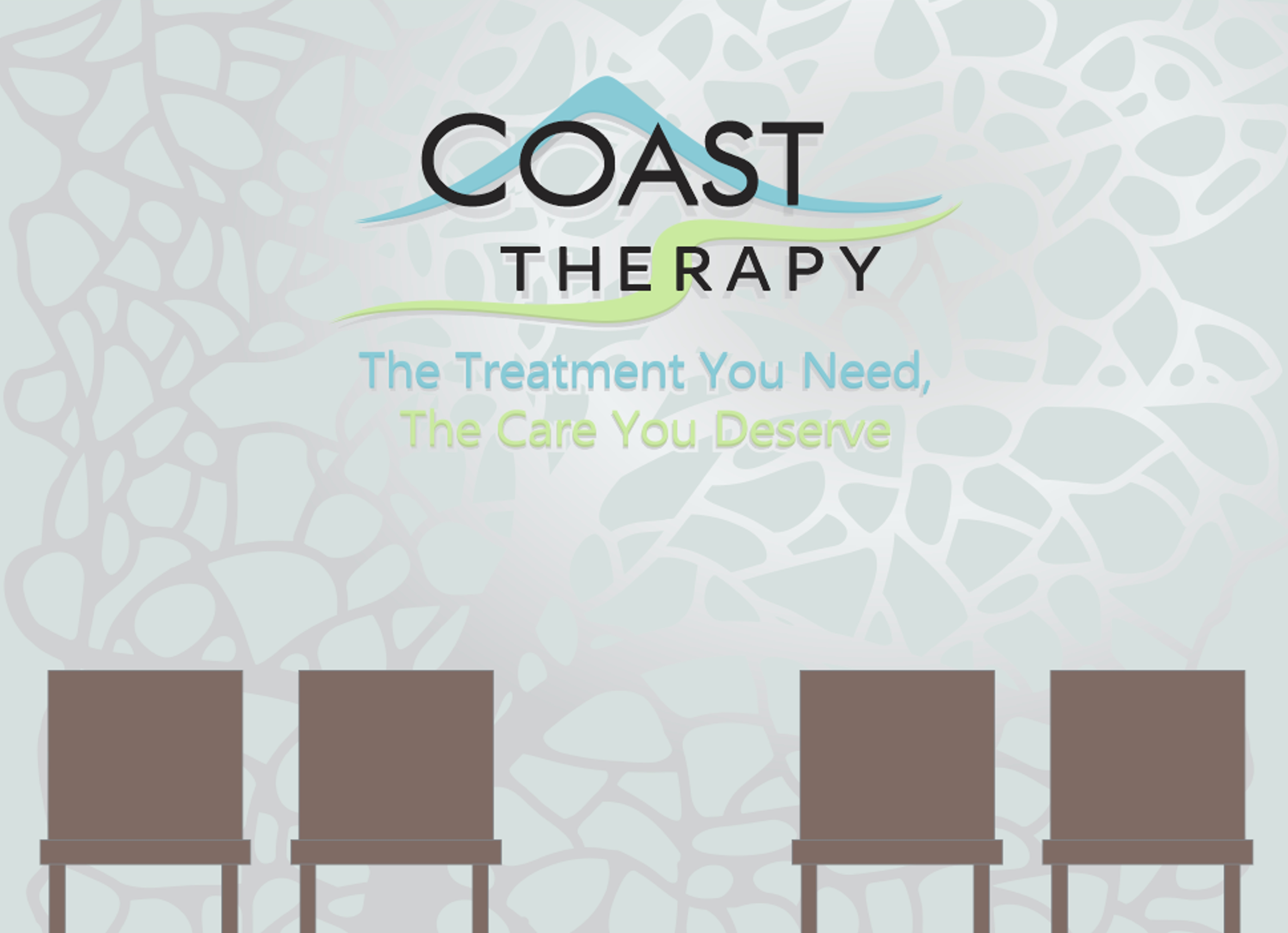 Coast Therapy feature wall