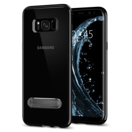 Spigen Galaxy S8(Plus) Ultra Hybrid S – Jet Black 571CS21685