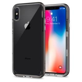 Spigen iPhone X Neo Hybrid Crystal – Gunmetal 057CS22172