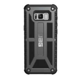 Galaxy S8 Monarch Case- Graphite/Black-Visual Packaging
