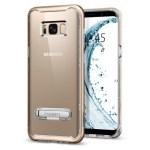 Spigen Galaxy S8(Plus) Crystal Hybrid – Gold Maple 571CS21127