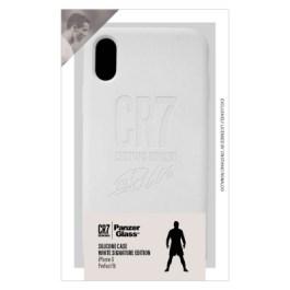 CR7 Silic.Case iPhone X White Autograph