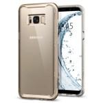 Spigen Galaxy S8(Plus) Neo Hybrid Crystal – Gold Maple 571CS21655